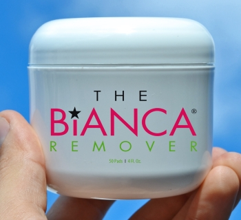 The Bianca Remover - Removes the most stubborn lip colours, foundations, creams, powders and even waterproof eye makeup!